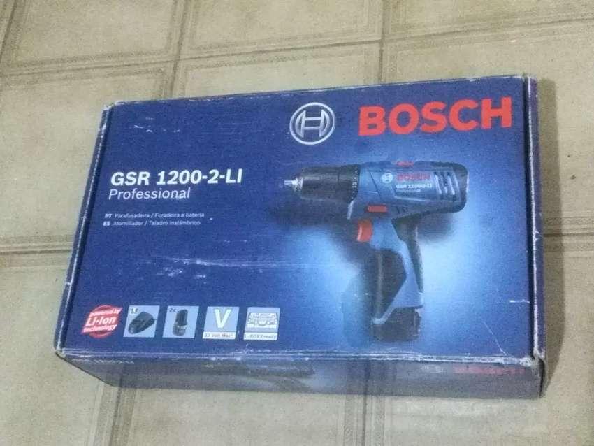 Atornillador Inalámbrico Bosch GSR 1200-2-Li 0