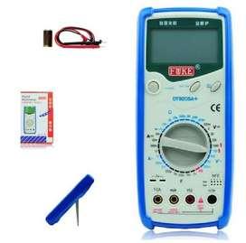 Multimetro Digital Fuke Dt9205 Mide Condensador Transistor