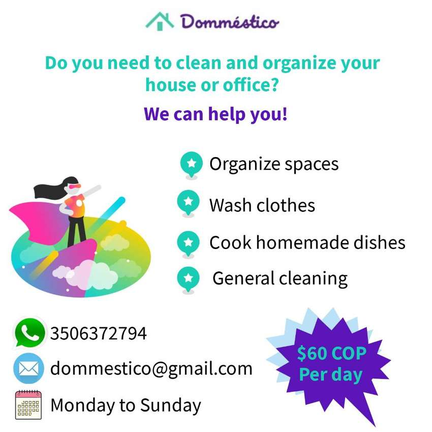 Cleaning services Medellin