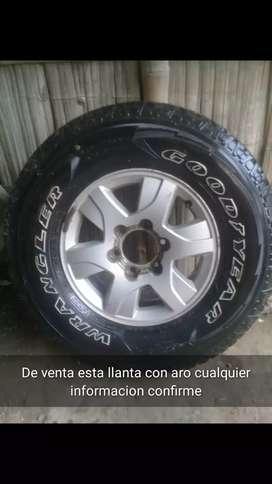 Llanta de auto + Aro