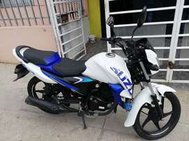 Moto Suzuki Hayate Evolution