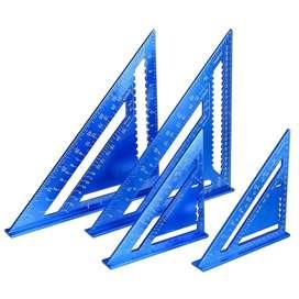 """Escuadra Rapida  12 """" de Aluminio 12 """""""