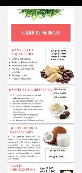 Manteca de cacao Karite coco puro