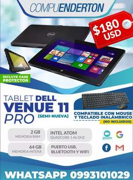 Dell Venue tablet Windows tactil