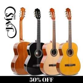 kit de guitarra acústica 50%off profesionales