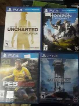 Juegos PS4 físicos