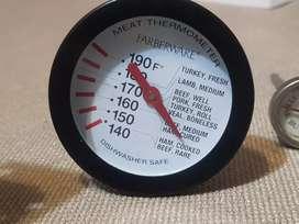 """REMATE!! Termometro farberware de carnes 190 F 4"""" acero inoxidable. U.S.A"""