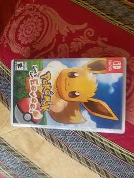 Pokemon lets go Evee Nintendo switch Juego