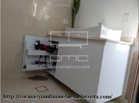 Muebles de baño en PVC Barranquilla