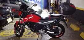 Moto Honda DLX  bien conservada y muy conse