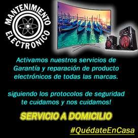 Servicio Técnico, Reparación de televisores, LCD, Smart, LED, Audio y Video Servicio a Domicilio