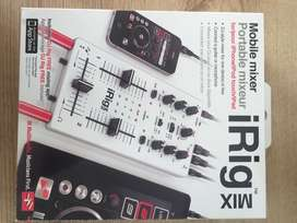 Mixer iRig Mix de dos canales para dispositivos Apple