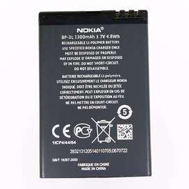 Batería Nokia Original Bp3l Asha 303 603 Lumia 710 900