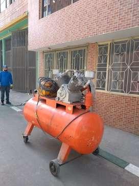 Vendó o permuto por vehículo compresor de 3500 PSI