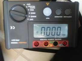 Telurometro  medición pozos a tierra