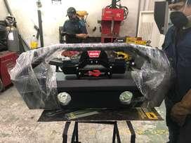 Bumper metalico trasero y delantero para jeep wrangler