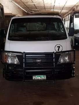 Combi Nissan urvan