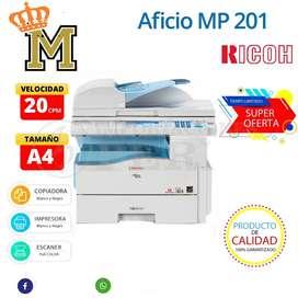 Fotocopiadora Multifuncional ricoh MP 201