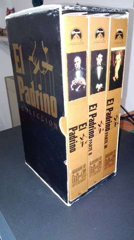 COLECCION EL PADRINO VHS  HI FI JOYA PARA ENTENDIDOS