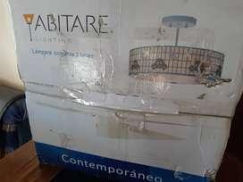 LAMPARA DE NIÑO COLGANTE