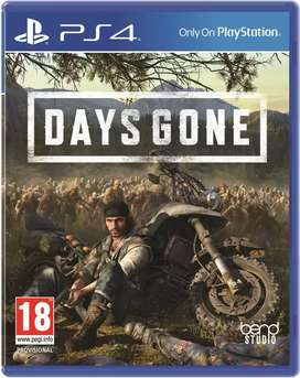 Vendo DAYS GONE en 12 mil