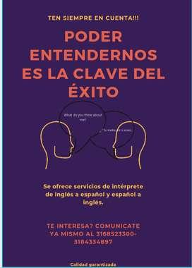 Servicio de intérprete