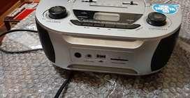 Radio Am Fm, con USB y Trajeta SD