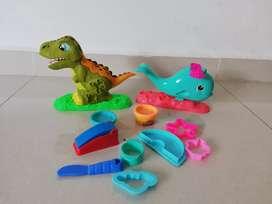 Play doh ballena y dinosaurio