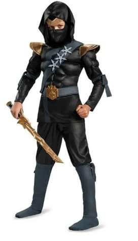 Disfraz importado ninja