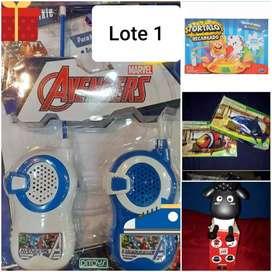 Vendo lotes de juguetes nuevos.