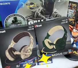 Diademas gamer play station