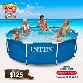 Piscina Intex Redonda 305x76cm Modelo 28201