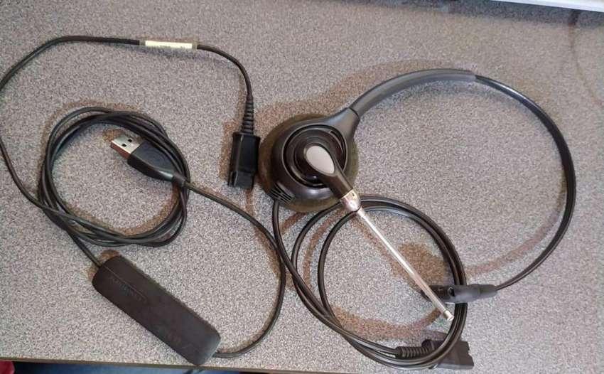 Diademas  HW251 plantronics con amplificador DA40 0