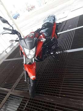 Vendo Honda CB F 125 TWISTER