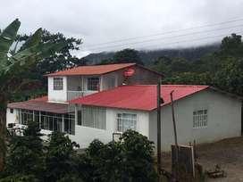 Se vende hermosa finca hubicada a hora y media de Bogota