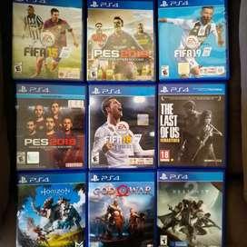 Remato juegos PS4