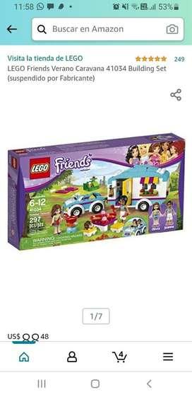 Lego friends caravana de verano