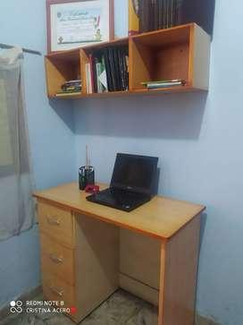 Se vende escritorio para estudio grande 2 piezas