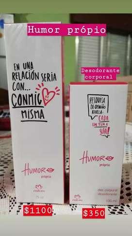 Colonia Humor propio rosado