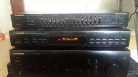 Amplificador + tunner+ equalizador Pionner original