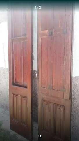 Puertas de roble antiguas,  únicas!