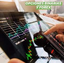 Trading, Opciones binarias y Forex