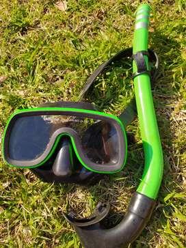 Luneta y snorkel
