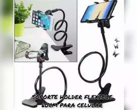 SOPORTE HOLDER FLEXIBLE 60 CM PARA CELULAR