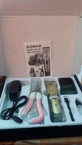 Kit cortadora de pelo para mascotas