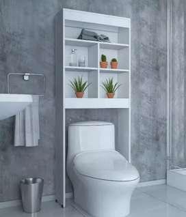 Mueble de melamina repisa de baño organizador NUEVO