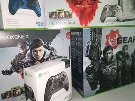 Xbox One X 4k 1tb Edicion Limitada Gears Of War 5 + Mando