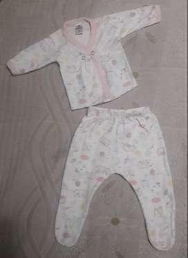 Batita y medio osito bebé Gamise - Talle 0 - Diseño nórdico