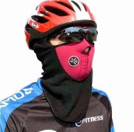 Mascara Chalina Térmica Corta Viento C/frio Bicicleta, Moto..