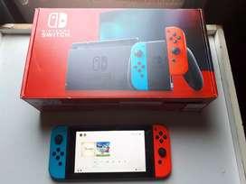 Oportunidad vendo nueva version de nintendo switch la mejor